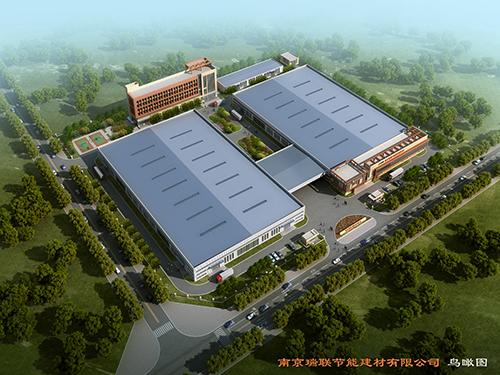 聚氨酯复合板厂家瑞联保温板厂鸟瞰图专业生产聚氨酯保温板和聚氨酯复合板等聚氨酯板材,是国内外墙保温龙头企业