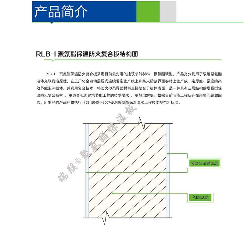 聚氨酯保温板结构图