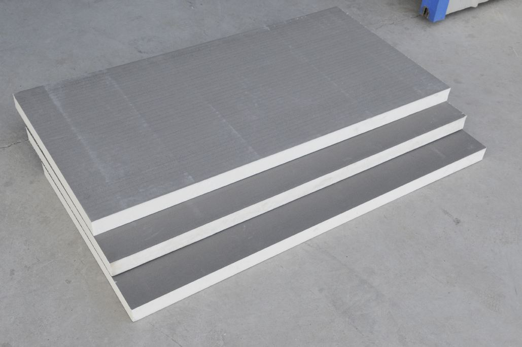 聚氨酯保温板成品展示