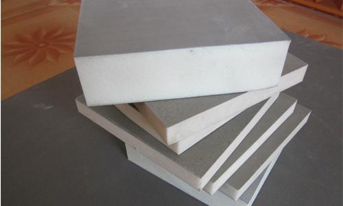 聚氨酯保温板样品展示多种厚度多种尺寸