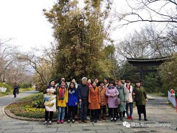 瑞联女员工南京一日游