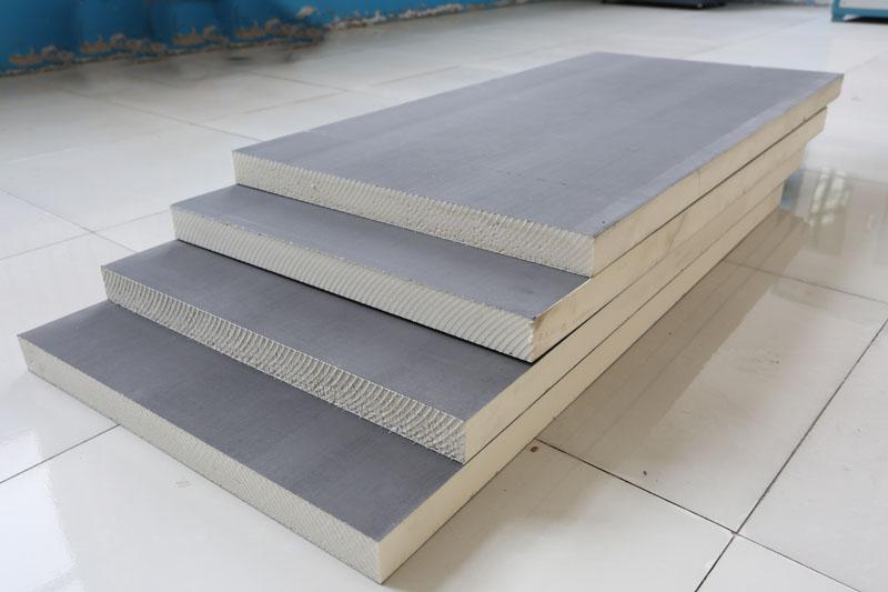 聚氨酯复合板展示样品