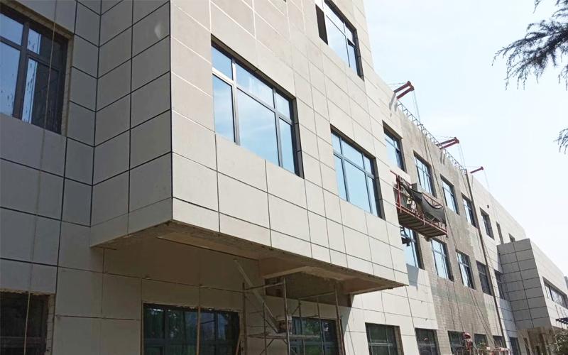 石材聚氨酯保温一体板项目展示——清水源大楼