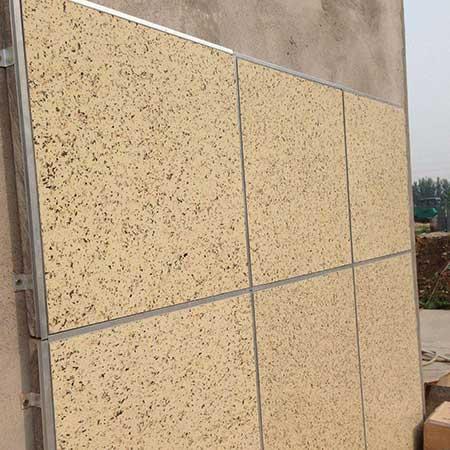 石材外墙保温装饰一体板